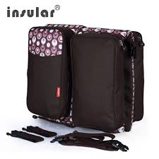 <b>Insular</b> Multifunctional <b>Baby Diaper Bag Baby</b> Bed Foldable ...