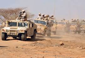 Image result for Saudi ground forces enter northern Yemen: Military official