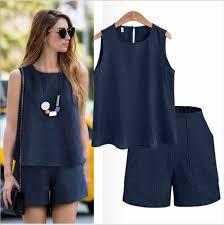 Summer <b>women</b> high waist elastic <b>hole denim shorts</b> loose plus size ...