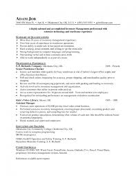 warehouse associate resume examples of warehouse resumes warehouse inventory management resumes sample warehouse management resume inventory manager resume objectives inventory control resume samples inventory