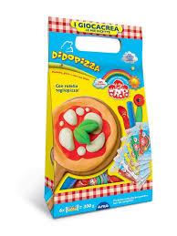 <b>Dido</b> Pizza, <b>набор для лепки</b>, паста 6*50гр, 3 стека+вспомог ...