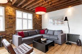 corner sofa living room contemporary amazing ideas with whitewashed brick grey corner sofa brick office furniture