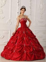 Elegant <b>Wine Red</b> Sweet 16 Dress Strapless Taffeta <b>Appliques</b> and ...