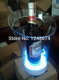 cheap and fashion design plastic ice buckets home bar furnitureglowing unique barware wholesale cheap home bar furniture