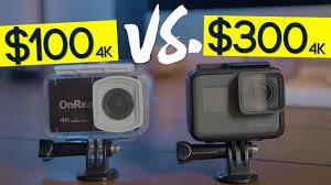 GoPro Hero 5 vs. $100 4k Camera - <b>OnReal</b> vs. GoPro - YouTube