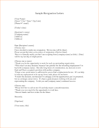 examples of resignation letter basic job appication letter professional letter of resignation sample