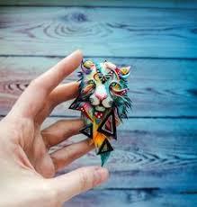Deer Totem Figurine by nicsadika | Волшебная глина! | Polymer ...