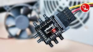 Хаб для компьютерных вентиляторов | Cooling Fan Hub 3pin 12V ...