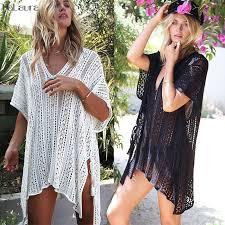 <b>2019</b> New <b>Beach Cover Up</b> Bikini Crochet Knitted <b>Tassel</b> Tie ...