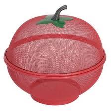 <b>Фруктовница с крышкой</b>, цвет красный (1926661) - Купить по ...