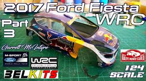 Belkits - 2017 Ford <b>Fiesta</b> WRC <b>1</b>/24 (Ogier/M-Sport) Part3 - YouTube