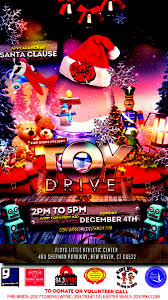 christmas toy drive new haven fire birds toy drive