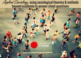 what is applied sociology sociology at work