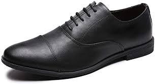 Jivana Oxford Business Dress Shoes for Men Lace ... - Amazon.com