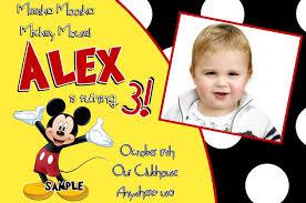 best mickey mouse birthday invitation best 10 mickey mouse birthday invitation