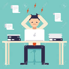 hardworking employee images stock pictures royalty hardworking employee a lot of work stress at work busy time of businessman