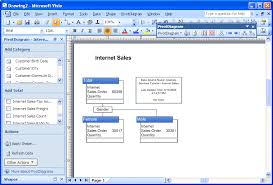 integrating visio and microsoft sql server pivotdiagram showing data by gender