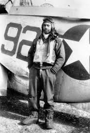 our last thank you to tuskegee airman hiram mann red tail squadron hiram mann2