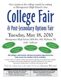 special education pta septa mhs sub committee college fair flyer