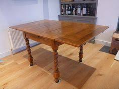 english oak pub table: oak table with barley twist legs this is my actual table