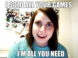 Overly Attached Girlfriend Internet Meme via Relatably.com