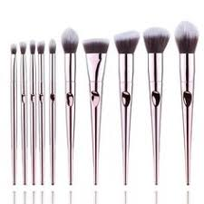 <b>Docolor</b> V-style <b>Makeup Brush</b> Set <b>14 Pcs</b> Professional Makeup ...