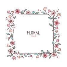 Free Vector   <b>Cute spring</b> floral frame