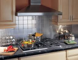 kitchen backsplash stainless steel tiles: image of stainless steel tiles for kitchen backsplash
