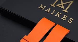 <b>MAIKES</b> Orange Sport <b>Watch</b> Band 20mm 22mm 24mm <b>Watch</b> ...