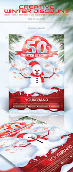 winter discount flyer by hsynkyc graphicriver winter discount flyer miscellaneous events