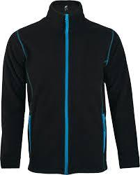 <b>Куртка мужская NOVA</b> MEN 200, черная с ярко-голубым - купить ...