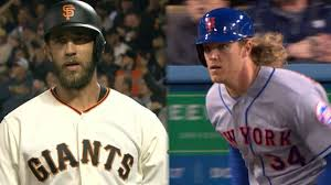 tale of the tape bumgarner vs syndergaard mlb com bumgarner syndergaard show pop