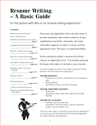 a basic resume doc tk a basic resume 24 04 2017