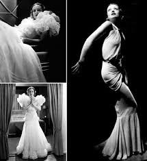 hollywood glamour: the awe inspiring joan crawford in letty lynton dress