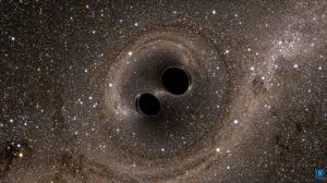 black holes as dark matter  here    s why the idea falls apartillustration of two black holes merging  of comparable mass to what ligo saw  image credit  sxs  the simulating extreme spacetimes  sxs  project