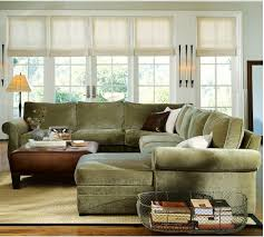 style living room pottery barn sectional
