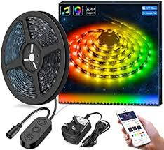 Minger LED Strip Lights 5M DreamColour <b>Waterproof</b> with <b>APP</b> ...