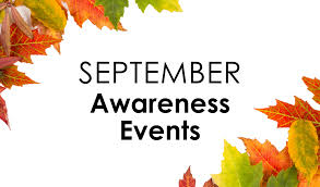 Awareness Events in September - David Disiere