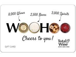 Total Wine & More $100 Gift Card In-Store Purchase Only (Email ...