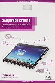 Купить <b>Защитное стекло REDLINE</b> для <b>Samsung Galaxy</b> Tab A ...