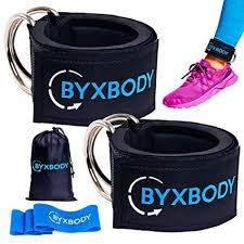 ByxBody <b>Ankle Straps</b> for <b>Cable</b> Machines and <b>Resistance</b> Band ...