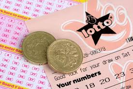 UK National Lotto ticket