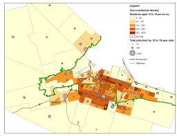 geography of jobs in hamilton hamilton community foundation map 1
