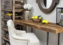 custom reclaimed wood desk for small home office awesome custom reclaimed wood office desk