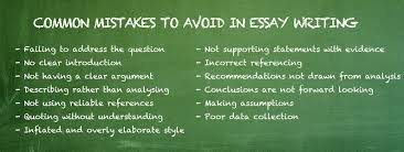 alleviate pain of writing common mistakes to avoid in essay writing google search