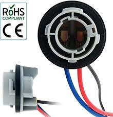 MASO <b>2Pcs 1157</b> Bulb Socket <b>BAY15D</b> Lamp Holder <b>P21</b>/<b>5W</b> ...