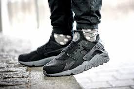 nike air huarache grey black black grey nike air