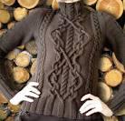 Схемы вязания аранских узоров спицами