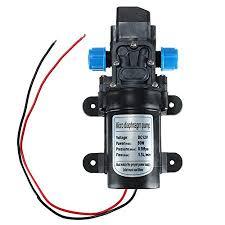 High Pressure Diaphragm Water Self Priming Pump <b>DC 12V 80W</b> ...