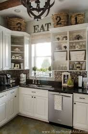 dishy kitchen counter decorating ideas:  ideas about above cabinet decor on pinterest cabinet top decorating decorating above kitchen cabinets and above cupboard decor